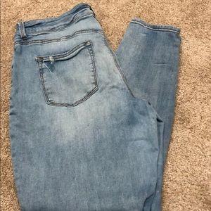 Maurice's skinny jeans, XL Reg